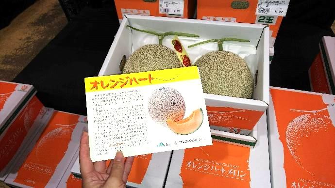 サンサンうきっ子宇城彩館のオレンジハート