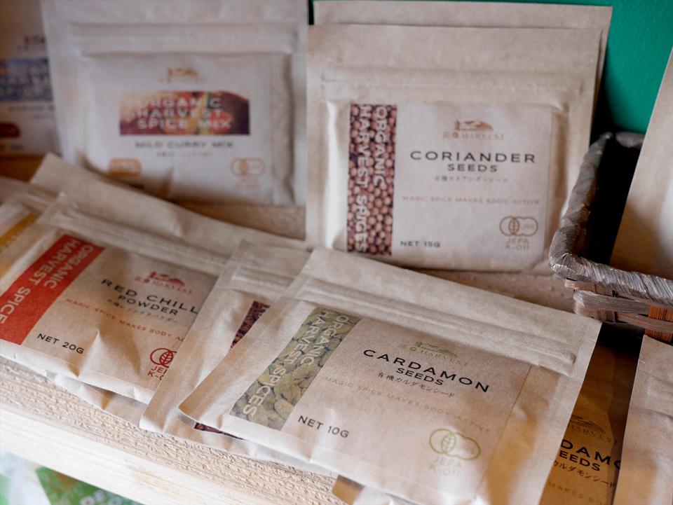 「坂ノ途中soil」で販売されているスパイス