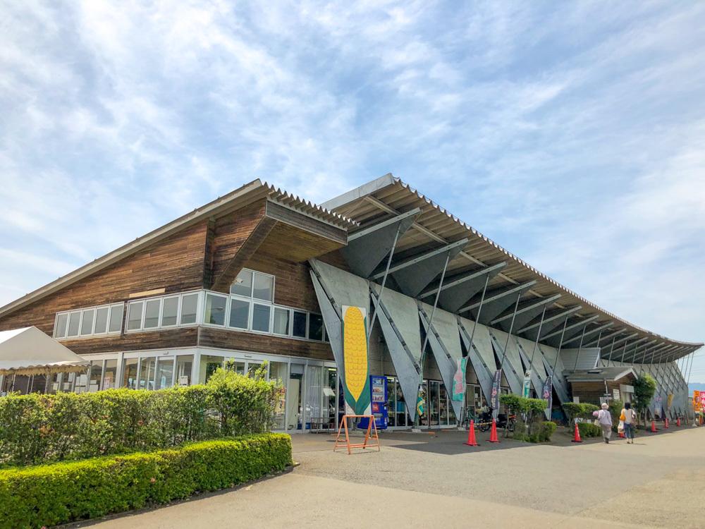 「秋川ファーマーズセンター」の外観